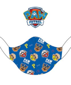 Textil szájmaszk kicsi gyerek kék Paw Patrol