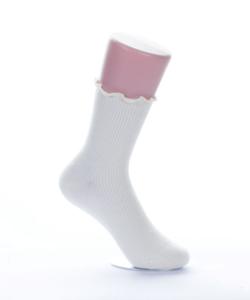 Gumírozás nélküli női pamut zokni 5 páras