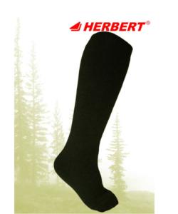Herbert sötétzöld  thermo férfi térdzokni