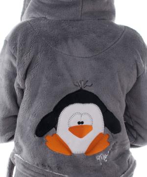 Cuki pingvines pihe puha női köntös Mania