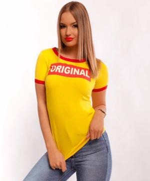 Victoria moda Original sárga női felső