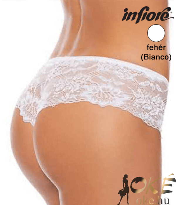 Infiore 1101 női francia bugyi fehér