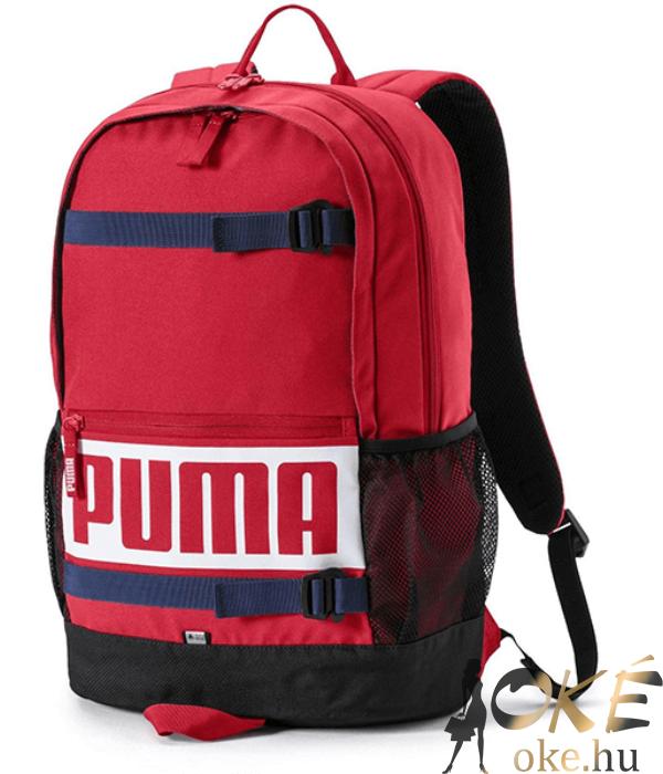 8794b766154d Puma hátizsák piros-fekete Deck - pimaszul jó áron